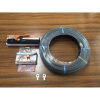 ☆新品☆溶接用キャブタイヤケーブル WCT22SQ 40m 付属品付(ホルダー+アースクリップ+端子2個)