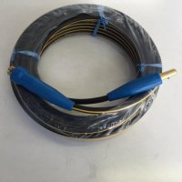 ☆新品☆溶接用キャブタイヤケーブル イエローライン(黄/黒) WCT22SQ 10m 中間線 完成品