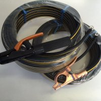 ☆新品☆溶接用キャブタイヤケーブル イエローライン(黄/黒) WCT22SQ 15m(ホルダー線+アース線)付属完成品