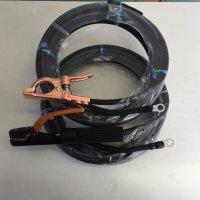 ☆新品☆溶接用キャブタイヤケーブル WCT38SQ 15m(ホルダー線+アース線)付属完成品