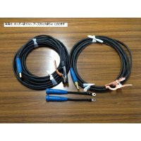 ☆新品☆溶接用キャブタイヤケーブル WCT22SQ 10m(ホルダー線+アース線)付属完成品 ジョイント2本付