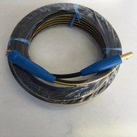 ☆新品☆溶接用キャブタイヤケーブル イエローライン(黄/黒) WCT22SQ 15m 中間線 完成品