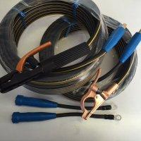 ☆新品☆溶接用キャブタイヤケーブルル イエローライン(黄/黒) WCT22SQ 25m(ホルダー線+アース線)付属完成品 ジョイント2本付