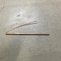 ☆新品☆ 大阪電具 丸形アース棒(銅製) 7φ×300mmリード線付 単打式接地棒