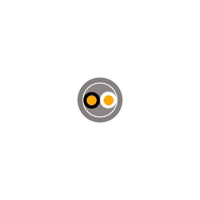☆新品☆ビニル絶縁ビニルシース電力ケーブル 600V VVR 22SQx2C 100m巻  灰色 SVケーブル ☆領収書可能